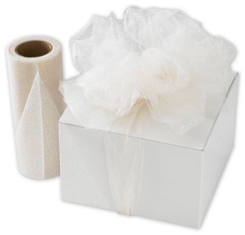 Ivory Sparkle Tulle, 6
