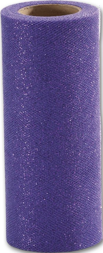 Purple Sparkle Tulle, 6