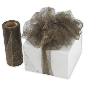 Chocolate Sparkle Tulle, 6