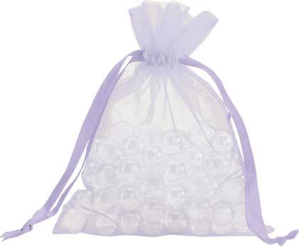 "Lavender Organdy Bags, 5 x 6 1/2"""