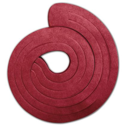 """Red Spiro Pack, 3 Swirls Connected, 15"""" Long"""