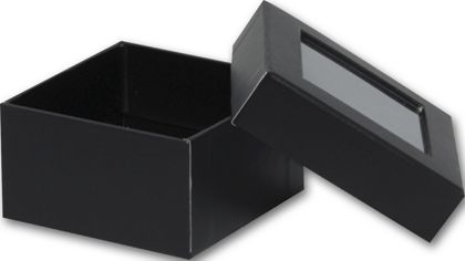 Black Rigid Gourmet Window Boxes, Small