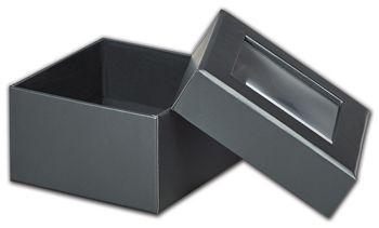 Graphite Metallic Rigid Gourmet Window Boxes, Small