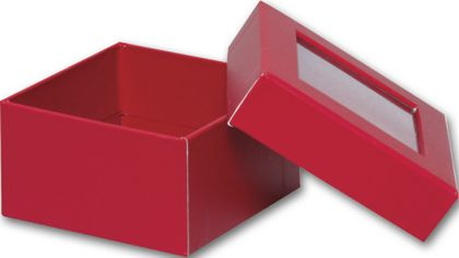 Red Rigid Gourmet Window Boxes, Small