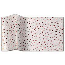 """Red Satinique Tissue Paper, 20 x 30"""""""