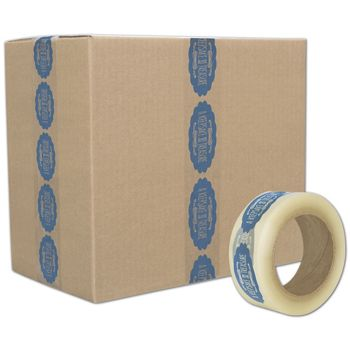 "Clear Custom Printed Tape, 1 Color, 2"" x 110 Yds"