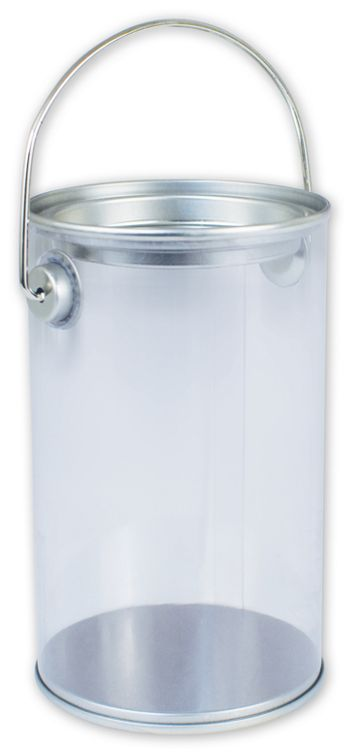 Silver Clear Pails, 3