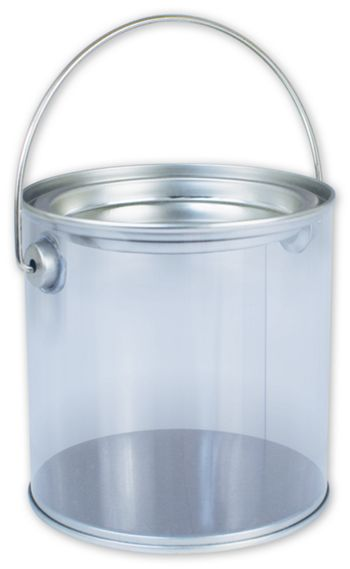 Silver Clear Pails, 4