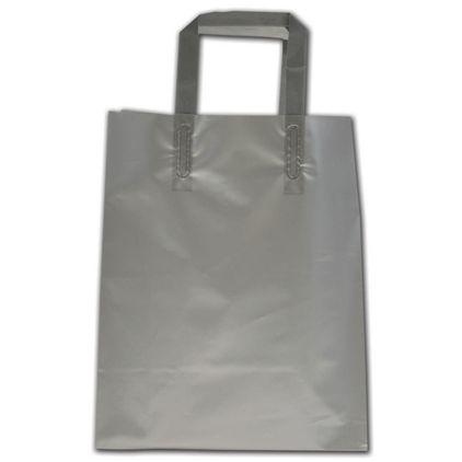 "Silver Precious Metals Shoppers, 8 x 5 x 10"""