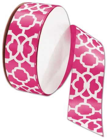 Tangiers Cyclamen Ribbon, 1 1/2