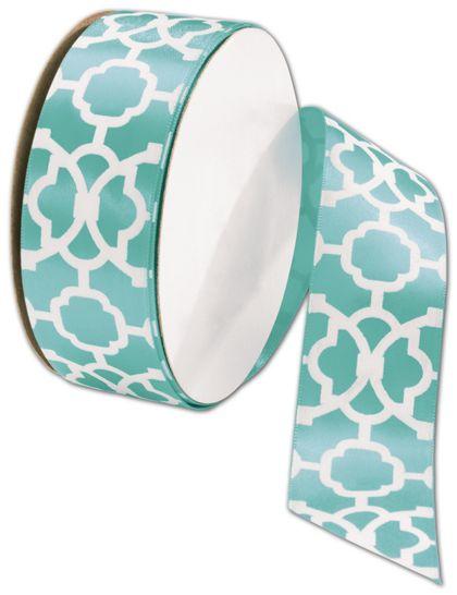 "Tangiers Navajo Turquoise Ribbon, 1 1/2"" x 25 Yds"