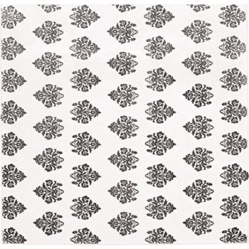 Black Exploded Damask Tissue Paper, 20 x 30