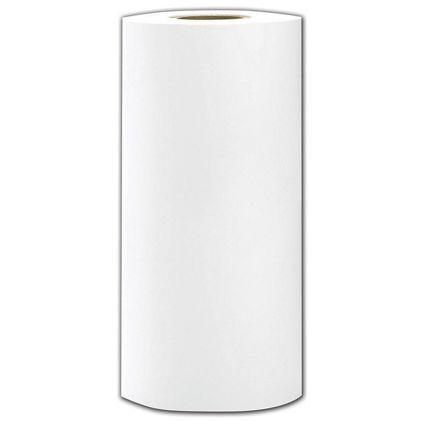 """White Tissue Roll, 3"""" Core, 18"""" Wide x 9"""" Diameter"""