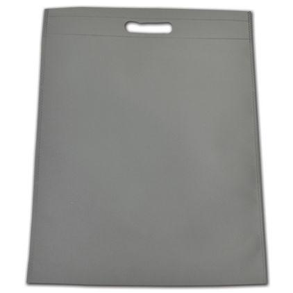 """Gray Non-Woven Tuff Seal Merchandise Bags, 13 4/5x17 7/10"""""""