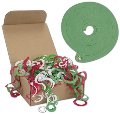 "Holiday Jumbo Tissue Toss, 6.3"" Diameter, 64 Strands"