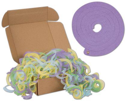 """Pastel Jumbo Tissue Toss, 6.3"""" Diameter, 64 Strands"""