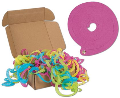"Bright Large Tissue Toss, 4.7"" Diameter, 48 Strands"