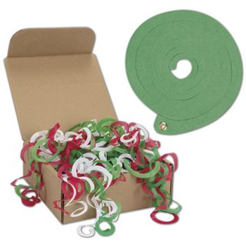 "Holiday Large Tissue Toss, 4.7"" Diameter, 48 Strands"