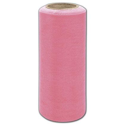 """Paris Pink Tulle, 6"""" x 25 Yds"""