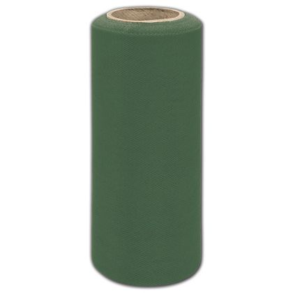 """Emerald Tulle, 6"""" x 25 Yds"""