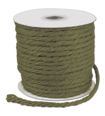 Moss Burlap Jute Rope Twine, 1/8