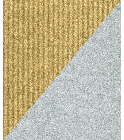 "Silver/Gold Reversible Gift Wrap, 24"" x 417'"