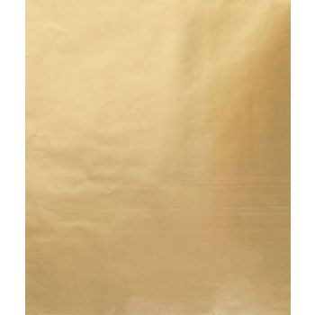 Metallic Gold Gift Wrap, 24