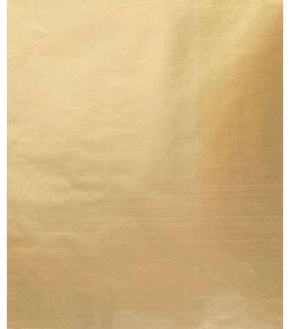 "Metallic Gold Gift Wrap, 24"" x 100'"