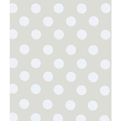 "Polka Dot Pearl Gift Wrap, 24"" x 417'"
