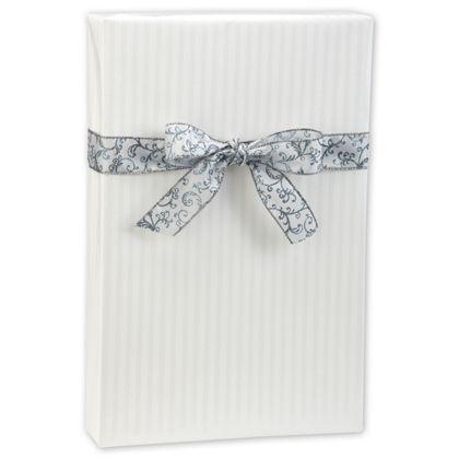 """Pearl Stripe Gift Wrap, 24"""" x 417'"""