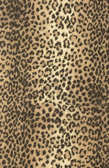 Leopard Jeweler's Roll Gift Wrap, 7 3/8