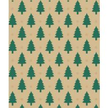 """Little Trees Gift Wrap, 24"""" x 100'"""