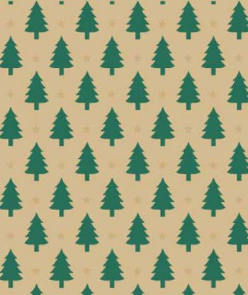 Little Trees Gift Wrap, 24