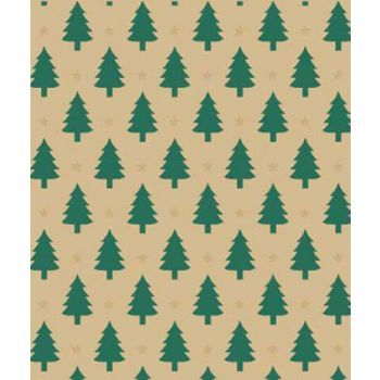 "Little Trees Gift Wrap, 24"" x 100'"