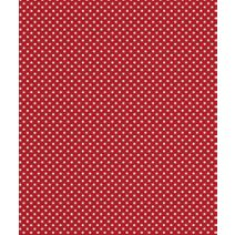 """Red Swiss Gift Wrap, 24"""" x 100'"""