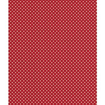 "Red Swiss Gift Wrap, 24"" x 100'"