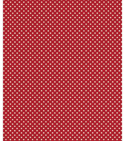 "Red Swiss Gift Wrap, 24"" x 417'"