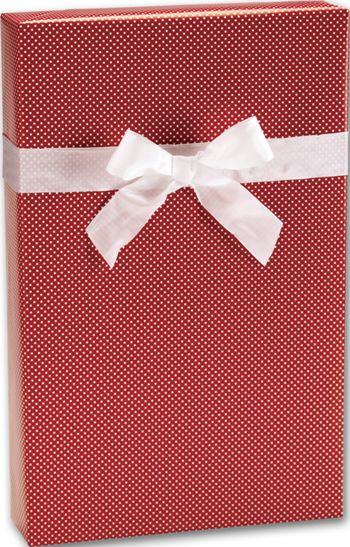 Red Swiss Jeweler's Roll Gift Wrap, 7 3/8