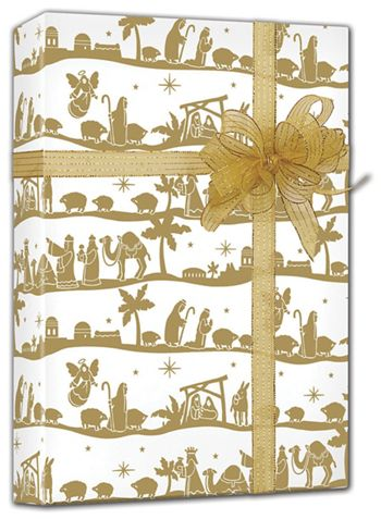 Nativity Gift Wrap, 24