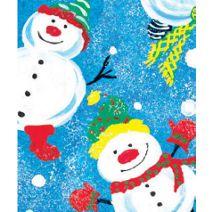 "Frosty Friends Gift Wrap, 24"" x 100'"