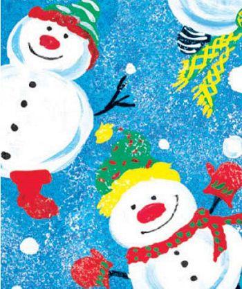 Frosty Friends Gift Wrap, 24