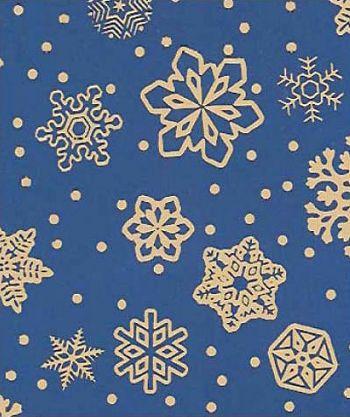 Sparkling Snowflakes Gift Wrap, 24