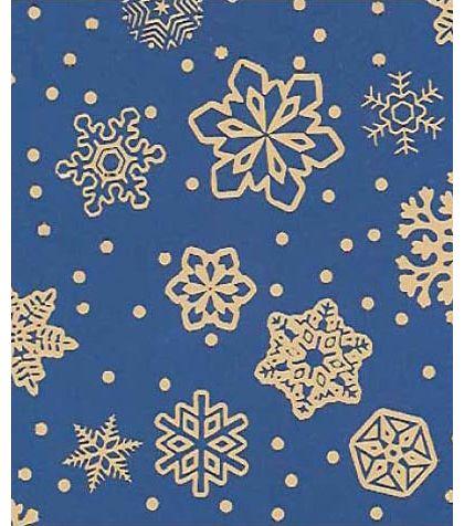 """Sparkling Snowflakes Gift Wrap, 24"""" x 100'"""