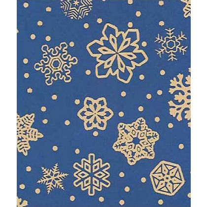 """Sparkling Snowflakes Gift Wrap, 24"""" x 417'"""