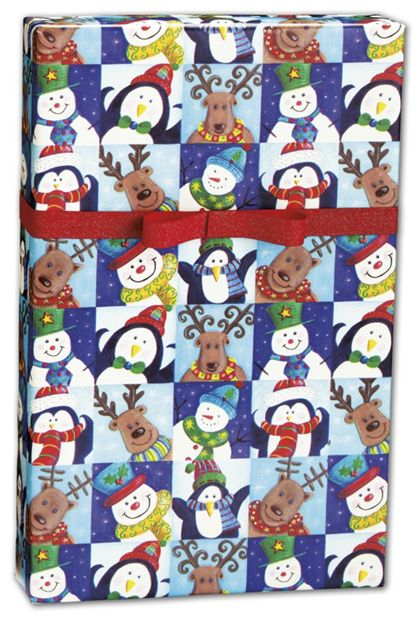 "Winter Fun Gift Wrap, 24"" x 417'"