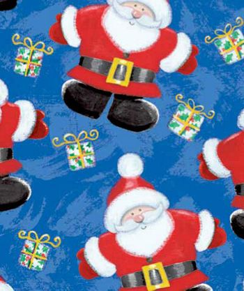 Jolly St Nick Gift Wrap, 24