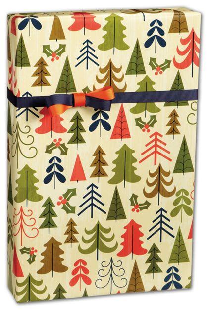 "Tree Farm Gift Wrap, 24"" x 100'"