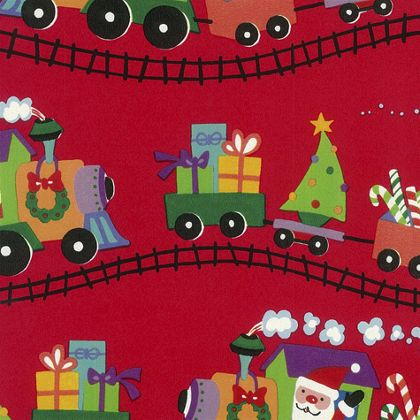 "Santa Express Gift Wrap, 24"" x 100'"