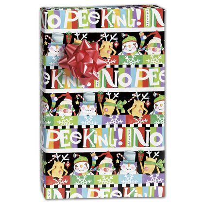 "Absolutely No Peeking Gift Wrap, 24"" x 100'"
