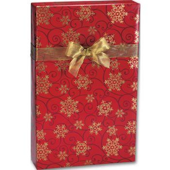 Snowflake Medallions Gift Wrap, 24